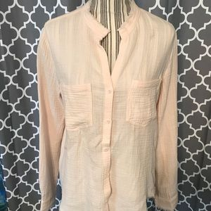 NWOT Cloth & Stone Riley Button Down Blouse